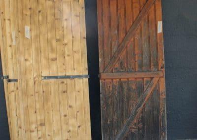 Décapage volets en bois