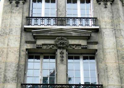 Hydrogommage façade après